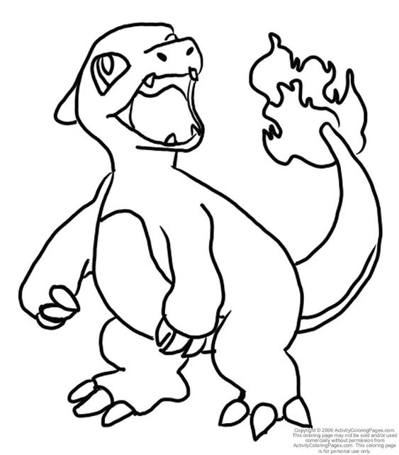 pokemon coloring pages pokemon coloring and charmeleon pokemon on