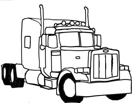 semi trucks peterbilt and a truck on pinterest