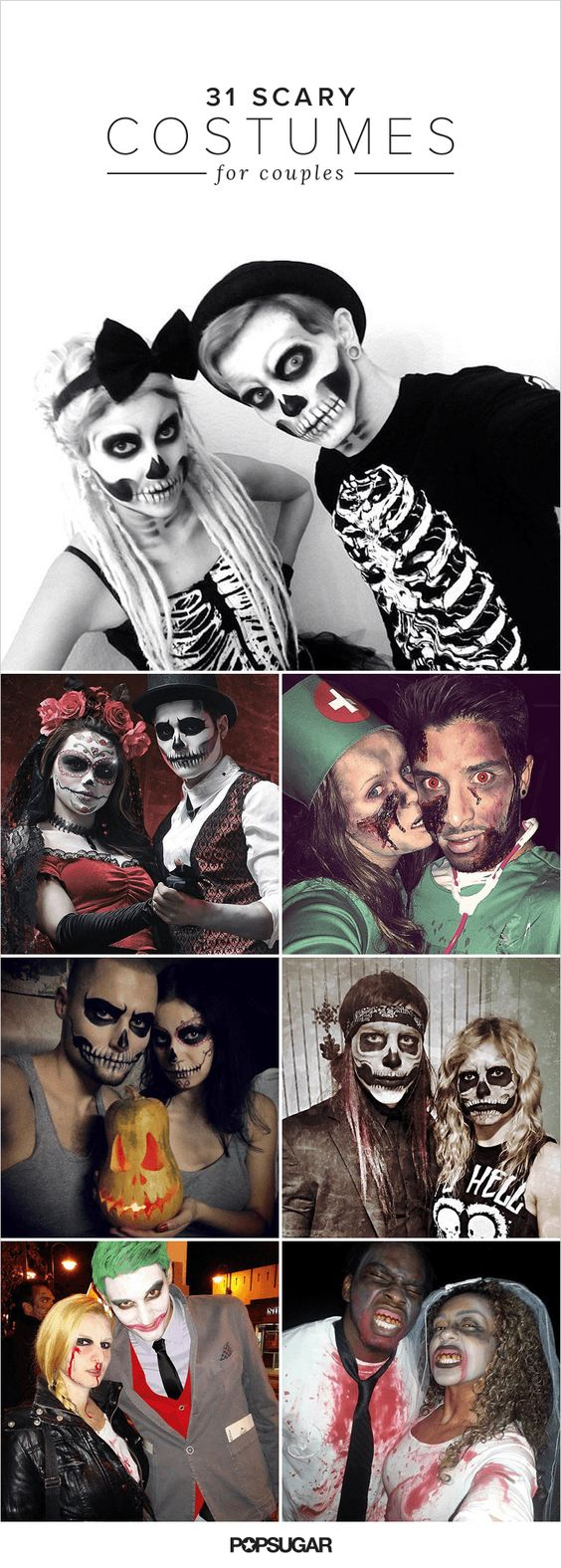Scary halloween costumes, Halloween costume for couples