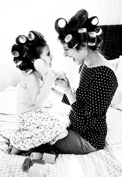 14 fotos de mães com suas filhas. A n° 7 é de gritar!: