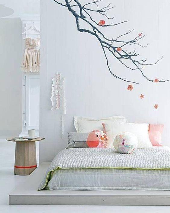 Habitación de estilo japonés.: