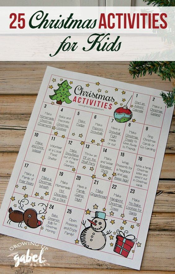 25 Christmas Activities for Kids to Make Memories For