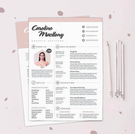 cv design template cv design and resume cv on pinterest