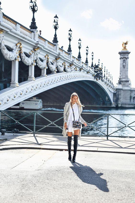 Paris | Overknees, MiuMiu bag #ohhcouture #leoniehanne #paris