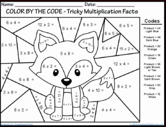 coloring pages coloring and math multiplication on pinterest