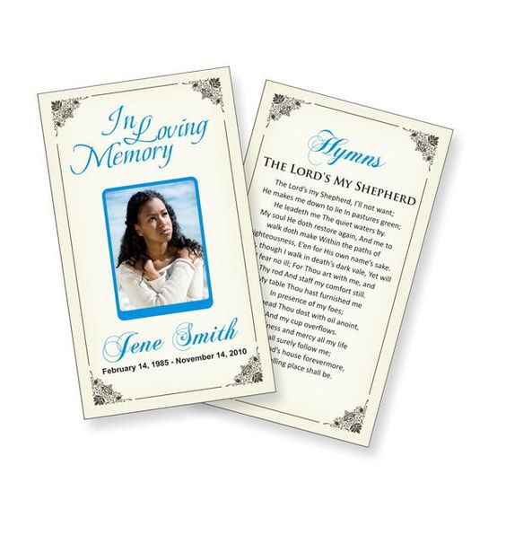 funeral prayers prayer cards and card templates on pinterest 21 – Obituary Cards Templates