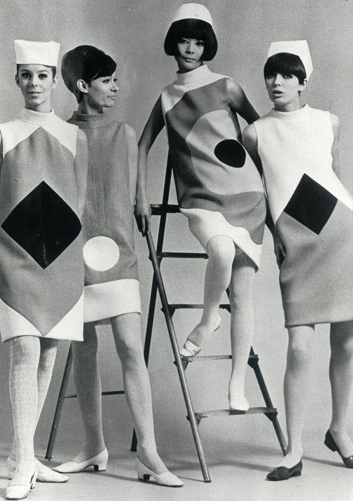 Pierre Cardin F/W 1965-66, photographed by Ghislain Broulard; 1966.: a 60-as évek divatja