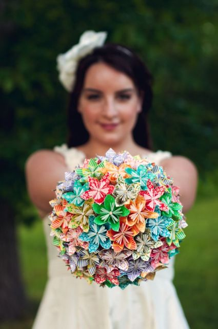 DIY - Paper Flower Bouquet: