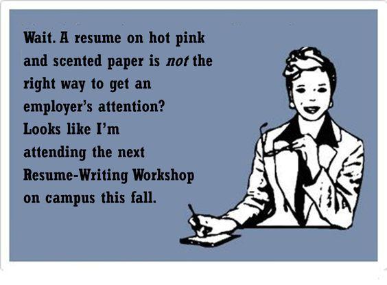 resume writing workshops mount aloysius college practice