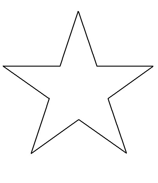 star template stars and templates on pinterest