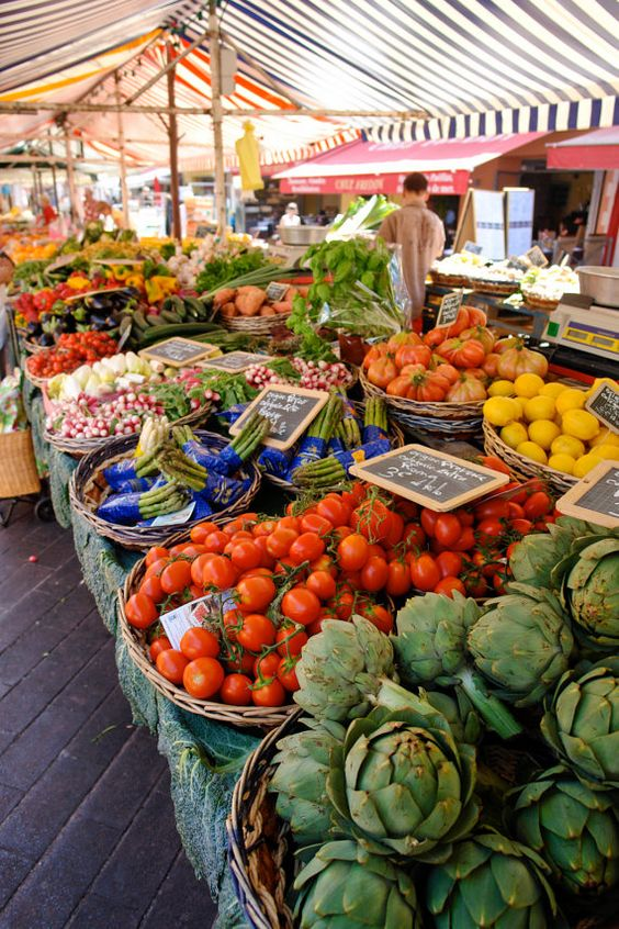French Market could do set of prints of farmers markets