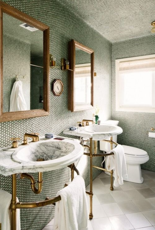 Indulgent Bathroom #inspiration #interiordesign: