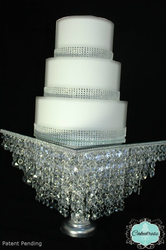 Crystal Wedding Cake Stands And Wedding Cake Stands On