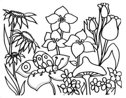 spring coloring pages coloring pages for kids and coloring on