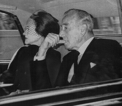 Duchess of Windsor and Earl Mountbatten of Burma on their ...