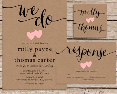 Cool Wedding Invites
