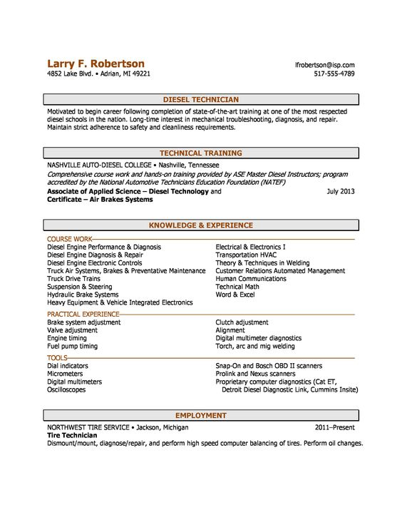 Example Combination Chronological Functional Resume. Resume Format