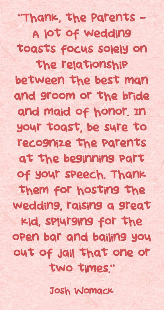 Daily Dose Of Wedding Wisdom Bridal Balance Maid Of Honor Speech Help Pinterest To Be