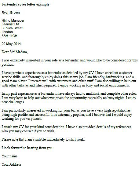 cover letter example cover letters and letter example on pinterest