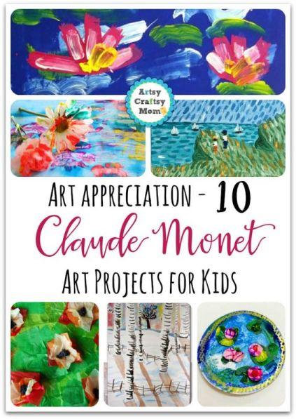 Monet Art Projects