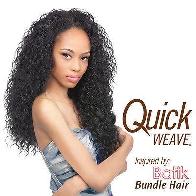 outre synthetic half wig quick weave batik peruvian bundle hair futura color 4