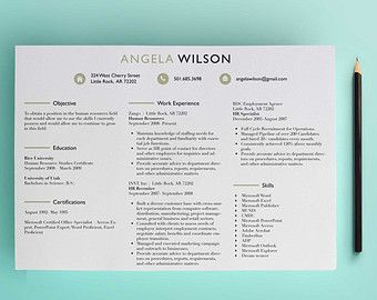resume download professional resume and letter templates on pinterest