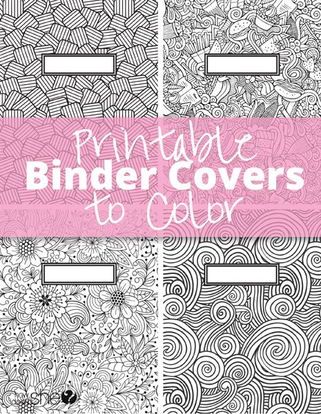 printable binder covers binder covers and colors on pinterest