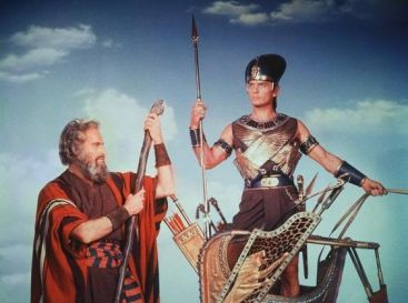 Image result for the ten commandments 1956 charlton heston and yul brynner