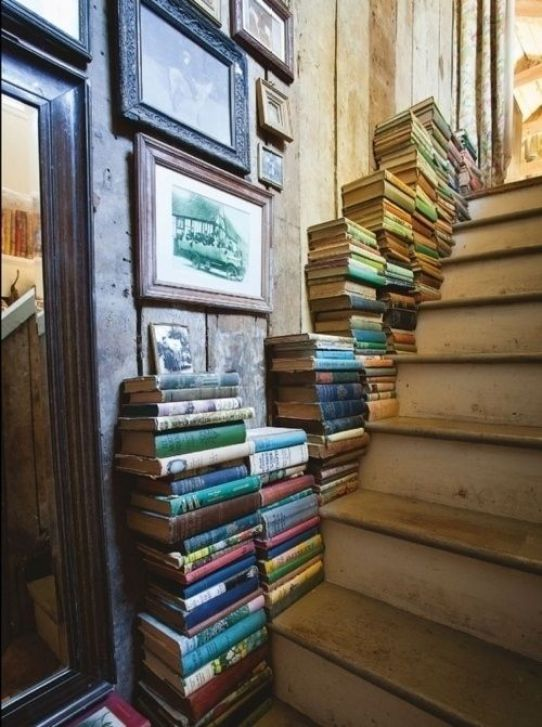 35 Things To Do With All Those Books: