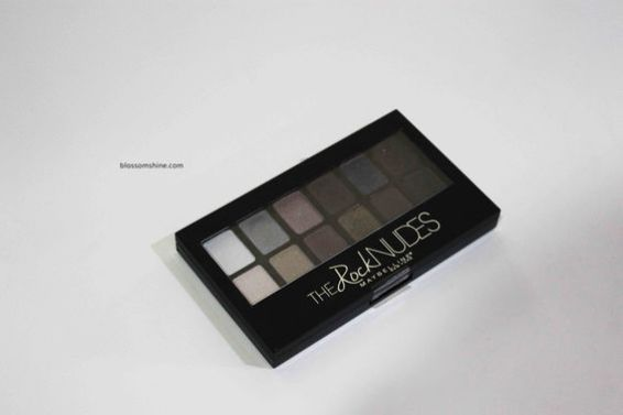 Maybelline The Rocked Nudes Palette