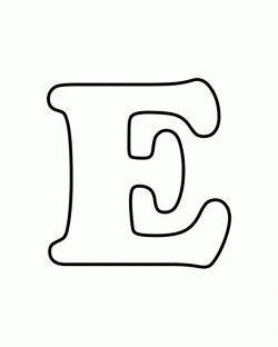 letter e coloring pages and coloring on pinterest