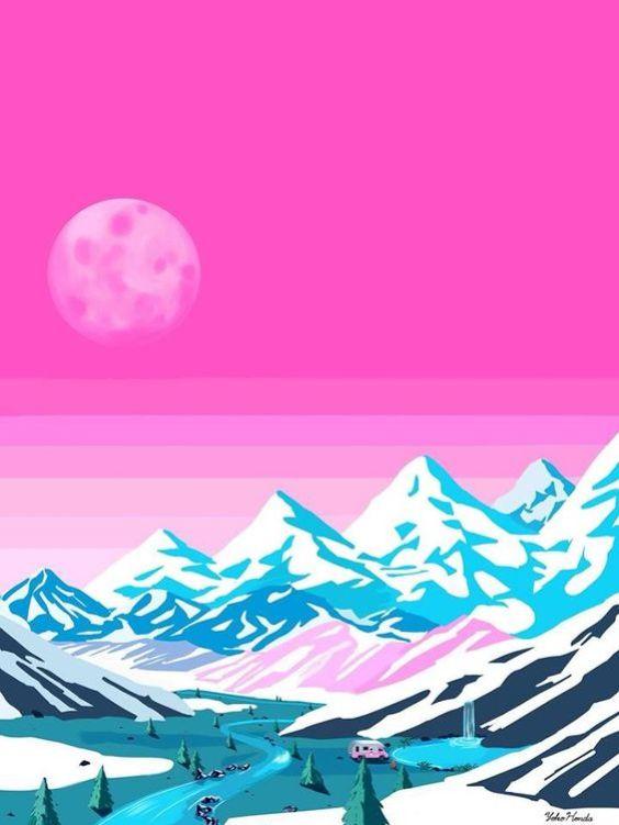 Yoko Honda mountains