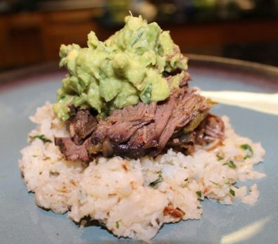 The things that matter to me...MY FAMILY and healthy food that fuel MY FAMILY like this amazing Paleo Crock Pot Beef Fajita dish: