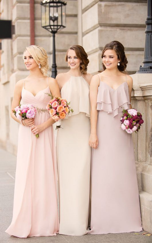 8796 Boho Chiffon Bridesmaid Dress by Sorella Vita:
