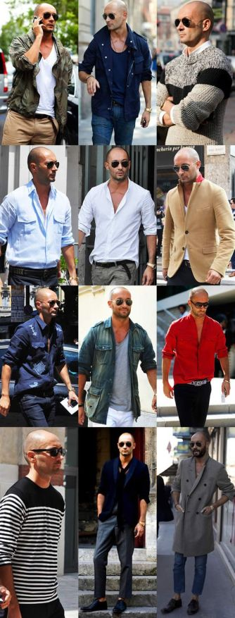 Milan Vukmirovic - Coolest looks around. Real men get into fashion and kick ass.