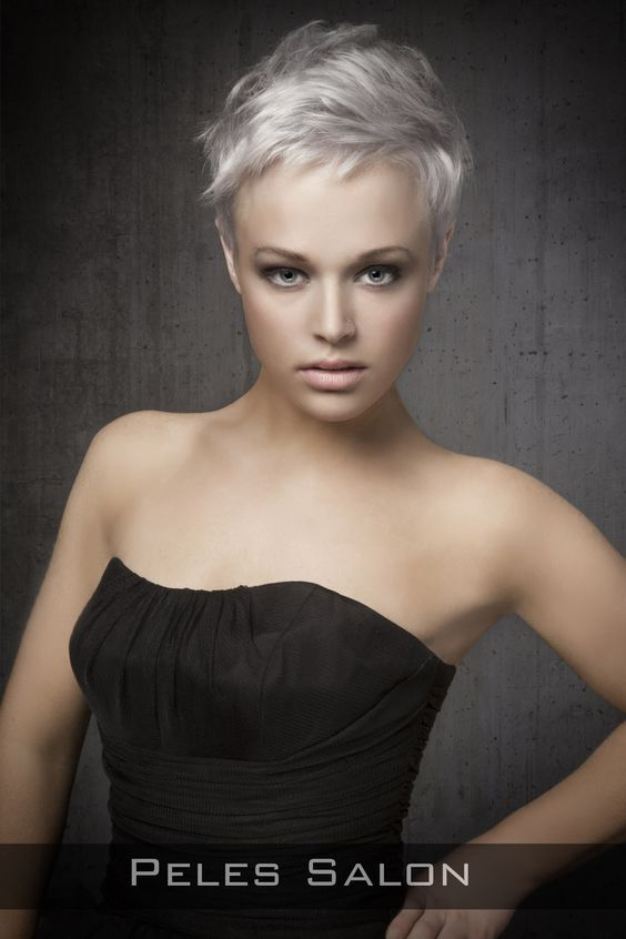 Pixie Hairstyles Round Faces And Hairstyles For Round
