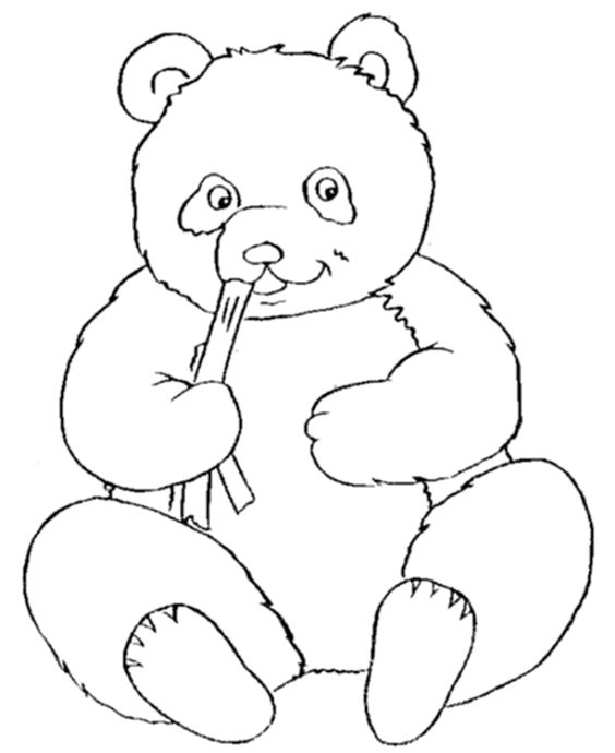 pandas panda bears and coloring pages on pinterest