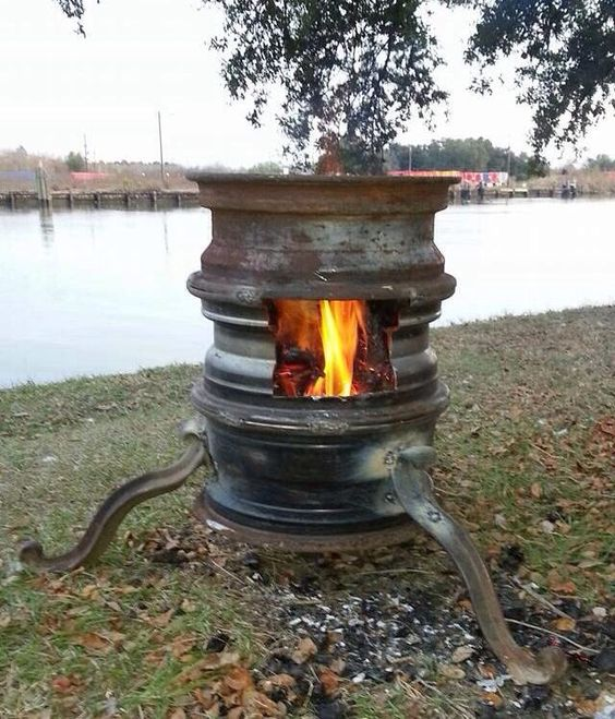 Rim Fire Pit Fire Pits Pinterest Fire Pits And Fire