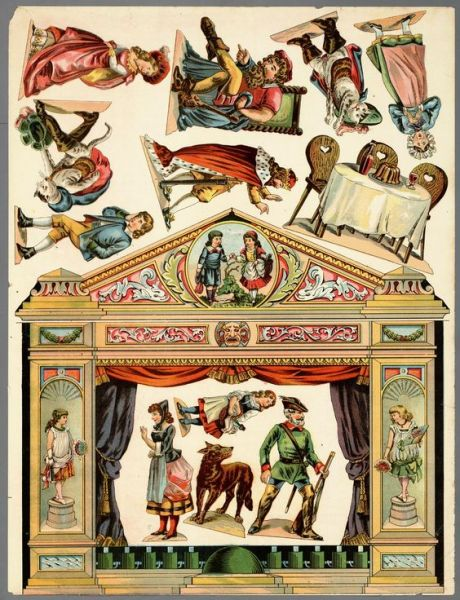 lots of puppet theatres with lots of background scenes etc  ****(I did not know there were more scenes etc)******: