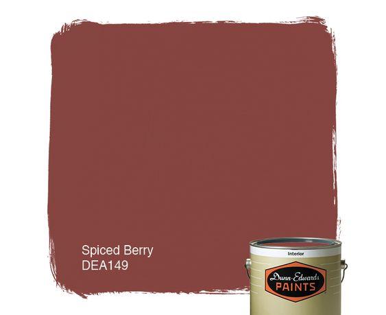 Dunn Edwards Paints Paint Color Spiced Berry DEA149