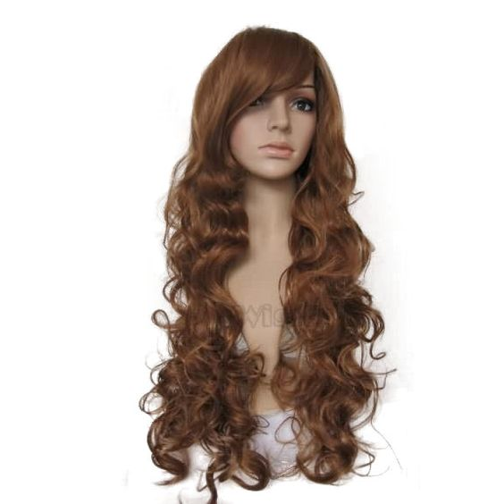 Extra Long  Hair  Long  Curly Wigs fashion wigs