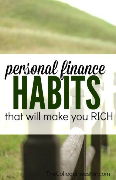 Looking to build wealth this year? If you develop these five personal finance habits you'll reach your goal a whole lot sooner. Find out how.: