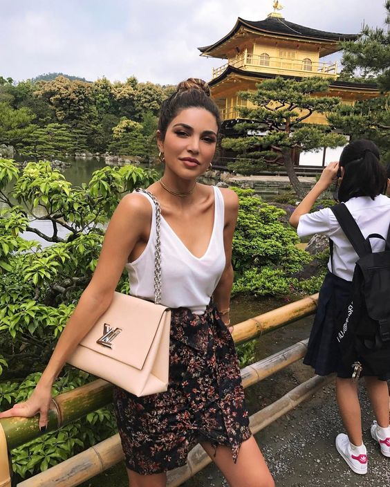 """142.3k Likes, 626 Comments - Negin Mirsalehi (@negin_mirsalehi) on Instagram: """"Exploring Kyoto with @louisvuitton. Just a few more hours before their cruise show. #lvcruise"""""""