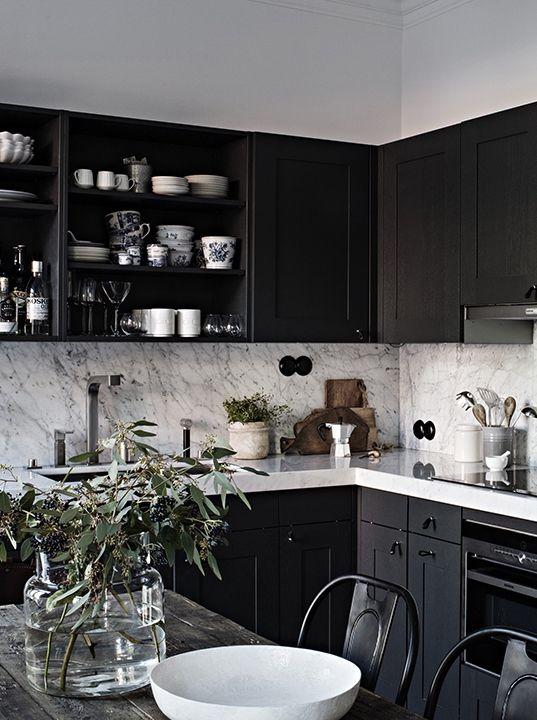 Small Black And White Kitchen Decor Novocom Top