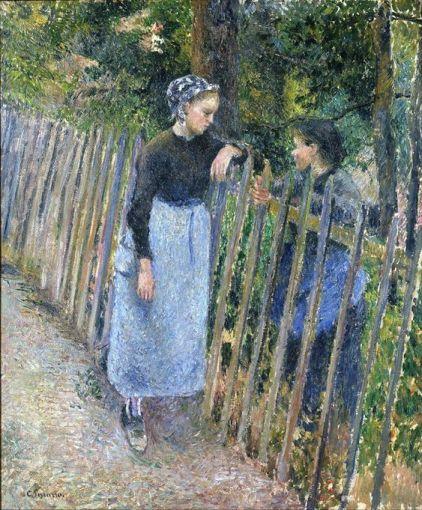 Conversation ~ Camille Pissarro: