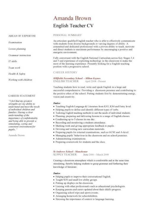 Cvs Resume Example. Cv Template Curriculum And Resume On Pinterest