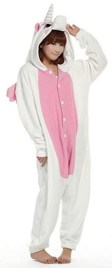 Amazon.com: WOWcosplay Kigurumi Animal Sleepsuit Pajamas Costume Cosplay Unicorn…: