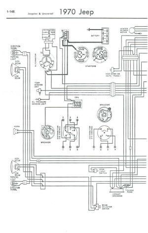 1971 Jeep CJ5 Wiring Diagram | Help With Wiring Cj5 1969