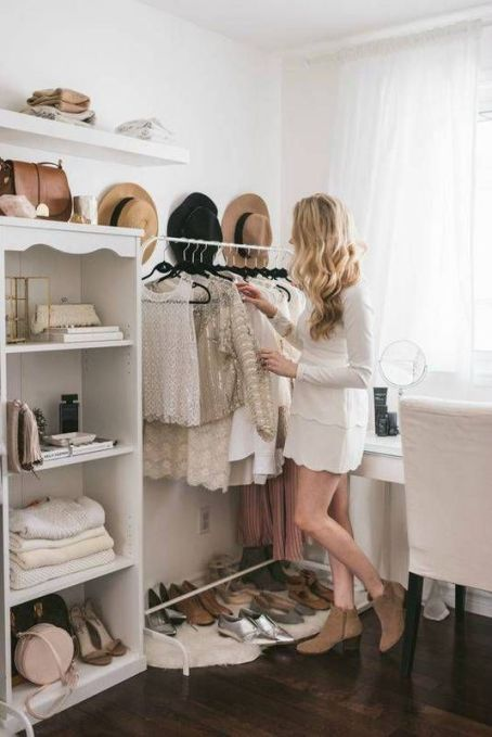 create a walk in closet