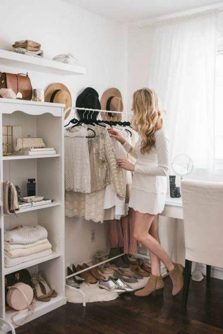 create a walk in closet